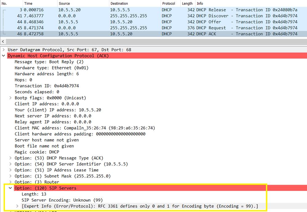 Error in Infoblox test