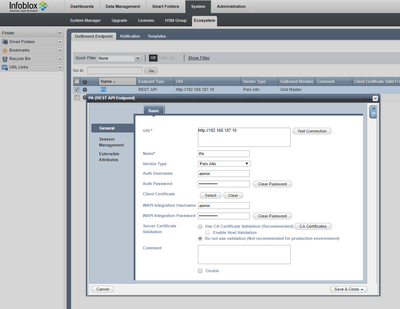 Creating Palo Alto objects from Infoblox - Infoblox Experts